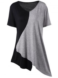 GET $50 NOW | Asymmetrical Color Block Plus Size T-ShirtFor Fashion Lovers only:80,000+ Items • New Arrivals Daily • FREE SHIPPING Affordable Casual to Chic for Every Occasion Join RoseGal: Get YOUR $50 NOW!http://www.rosegal.com/plus-size-t-shirts/asymmetrical-color-block-plus-size-1087301.html?seid=8725412rg1087301