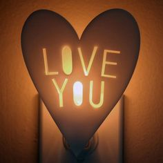 Love is all you need to keep the boogeyman away Cute Blankets, Shape Crafts, Nightlights, Paper Hearts, Baby Love, Light Up, Heart Shapes, Valentines, Diy Crafts