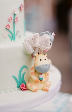 Hot Pink & Teal Gender Neutral Baby Shower - Inspired By This