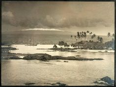 Original photograph of Hilo Bay, Hawaii circa 1890 - Price Estimate: $500 - $800