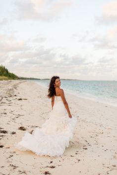 Turquoise & Orange Bahamas Beach Inspiration by Lyndah Wells Photography