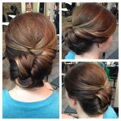 Beautiful up-do. Great for wedding/special event. Wedding updo