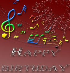 Happy Greetings Congrats: Musical Birthday