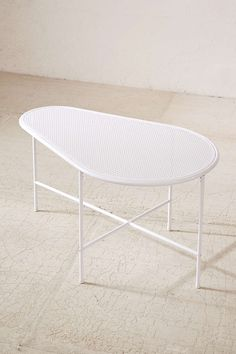 Ari Perforated Metal Coffee Table - Urban Outfitters