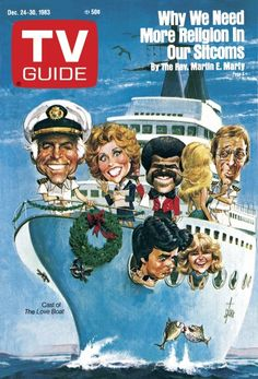 THE LOVE BOAT - 1983 - TV GUIDE