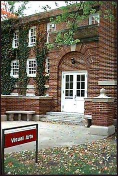 Visual Arts building (the old library), Goshen College