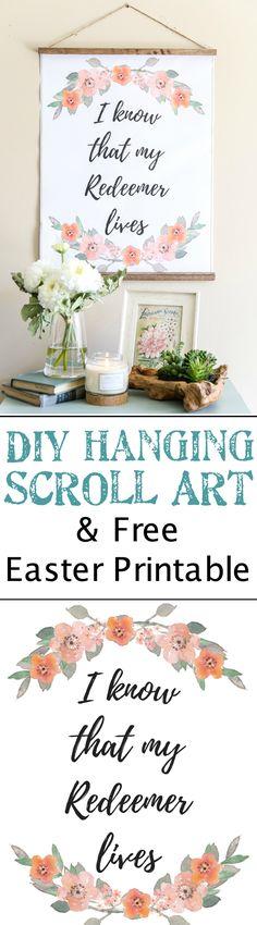 DIY Hanging Easter S