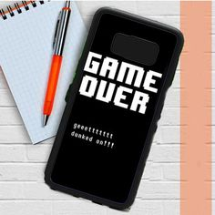 Undertale Game Over Get Dunked On Samsung Galaxy S8 Case Dewantary