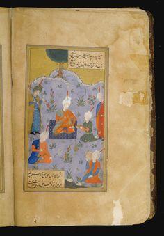Divan of Mir 'Alishir Nava'i with three illustrations, Persia, Safavid, century Islamic World, Islamic Art, 16th Century, Household Items, Impressionist, Modern Art, Vintage World Maps, Auction, Paintings