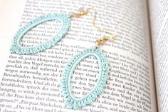 crochet earrings....Inspiration