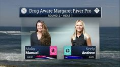2016 Drug Aware Margaret River Pro (W): Round 2, Heat 1 Video