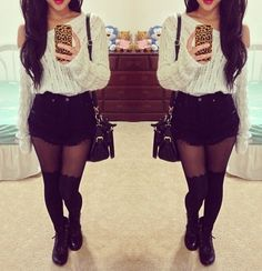 #falloutfit   boots sweater