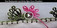 Easy Needle Lace Samples for Beginners - Needle Lace, Bobbin Lace, Needle And Thread, Freeform Crochet, Crochet Lace, Crochet Bows Free Pattern, Needle Tatting Tutorial, Crochet Unique, Crazy Quilt Stitches