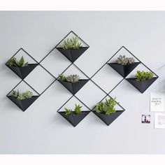 Cache-pot mural métal IKEBANA - Expolore the best and the special ideas about Mobile design Wall Plant Pot, Plant Wall Decor, House Plants Decor, Ikebana, Metal Wall Planters, Concrete Planters, Wall Mounted Planters, Green Wall Decor, Metal Wall Decor