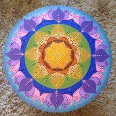 Mandala 80cm por Paulinha Assahi