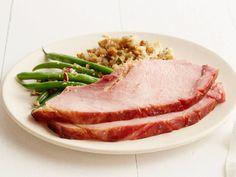 Peach Ginger Glazed Ham Recipe : Food Network Kitchen : Food Network - FoodNetwork.com