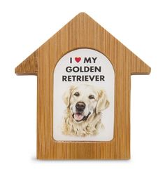 Golden Retriever Dog House Magnet One thing we love is a product line that has…