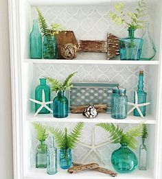 Bring the ocean feel to your home. You can live the mermaid life even if you are not a mermaid!