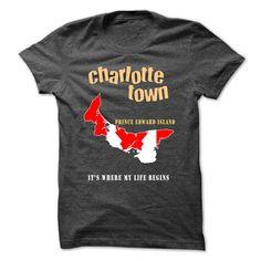CHARLOTTE TOWN - Its were MY LIFE BEGINS ! T Shirt, Hoodie, Sweatshirt