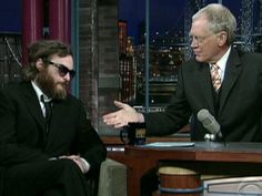 JOAQUIN PHOENIX freaked out everyone with his bizarre behavior and look on David Letterman's show. Never had Phoenix recieved so much press.Turns out it was all a stunt for a comedy biography 'I'm Still Here'.