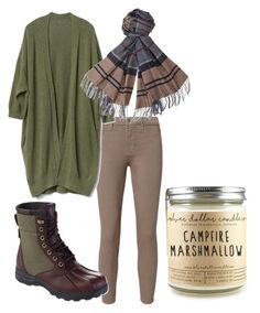 """Taurus"" by diamond-paige ❤ liked on Polyvore featuring L'Agence, Gap, L.L.Bean and Barbour"