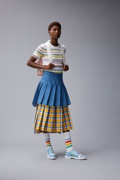 Thom Browne Resort 2018 -- that little sweater is KILLER