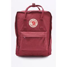 Fjallraven Kanken Classic Mini Plum Backpack (6.155 RUB) ❤ liked on Polyvore featuring bags, backpacks, maroon, fjallraven bag, backpack pouch, miniature backpack, fjällräven and mini backpacks