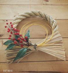 Grapevine Wreath, Grape Vines, Japanese, Wreaths, Blog, Crafts, Home Decor, Flower, Bricolage