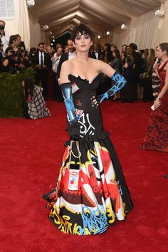 Gala do Metropolitan: As Divas Do Pop Katy Perry