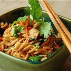 Asian Chicken Pasta Salad @ allrecipes.co.uk