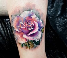 Rose tattoo by Marek Hali Perfect 3 colors realistic tattoo works of Rose motive done by tattoo artist Marek Hali Colorful Rose Tattoos, Coloured Rose Tattoo, White Rose Tattoos, Rose Tattoos For Women, Sleeve Tattoos For Women, Tattoos For Guys, Tattoos With Roses, Flower Tattoos, 3 Roses Tattoo