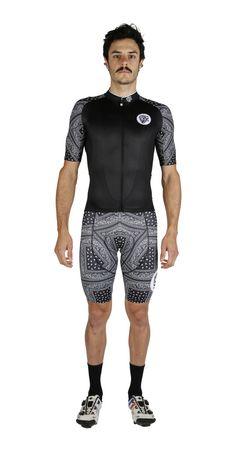Season 5 Paisley Black Cycling Kit by Attaquer Cycling Tights, Cycling Wear, Bike Wear, Cycling Jerseys, Cycling Outfits, Bike Kit, Triathlon, Bicycles, Paisley