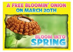 Outback Steakhouse: Free Bloomin' Onion with any Purchase (Today Only)
