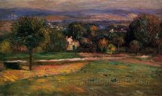 The Clearing 1895 by Pierre-Auguste Renoir 1895