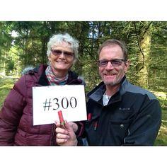 Geocaching milestones. #geocaching #geocache #outdoors #milestone