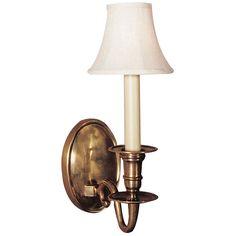 Visual Comfort Lighting E.F. Chapman Grosvenor 1 Light Wall Light