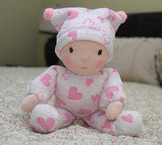 Babies First Waldorf Doll by Jemilynndolls Ready by jemilynndolls