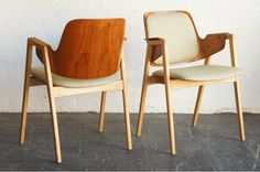 Dining Chairs by Elias Barup Mid Century Dining, Ligne Roset, Butterfly Chair, Dining Chairs, Interior Decorating, Lounge, Interiors, Furniture, Design