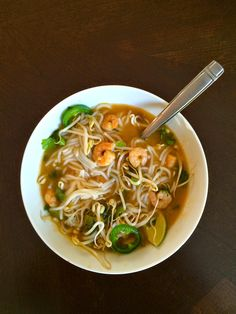 Cooking Uncorked: Shrimp Pho Recipe