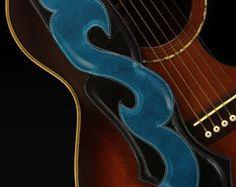 Cuero correa de guitarra: Correa Viking por EthosCustomBrands
