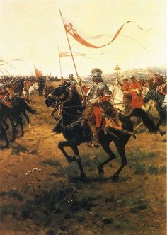 Winged Hussars (Painting by Józef Brandt / Wikipedia / Public Domain)