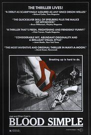 Blood Simple. Poster