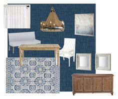 """""""Dining Room- LM"""" by angnehama on Polyvore featuring interior, interiors, interior design, home, home decor, interior decorating, Ballard Designs, Ethan Allen, Pottery Barn and dining room"""