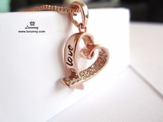 Rose Gold Filled Heart Pendant Necklace with Austrian Crystals Jewellery Specification: Pendant size: cm cm Weight: Chain length: + extension Material: Rose Gold filled Stone: Austrian crystal Chain type: Box chain Clasp: Lobster Box Chain, Heart Pendant Necklace, Austrian Crystal, Rose Gold, Crystals, Bracelets, Jewelry, Jewlery, Bijoux