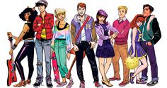 Beverly Hills 90210, Luther, Moose Mason, Archie Comics Characters, Archie Comics Riverdale, Betty & Veronica, Comic Book Publishers, Comic Books, Riverdale Cw