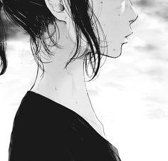 manga girl art