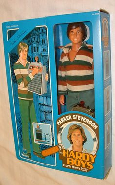 the hardy boys parker stevenson 12 inch figure mint in box more parker    Parker Stevenson Hardy Boys