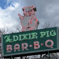 The Dixie Pig in Coral Hill Maryland. Best fried chicken box ever. My Mom Jean worked there for a short time.