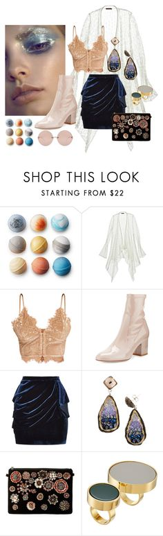 """""""INDEPENDENT #217"""" by brie-the-pixie ❤ liked on Polyvore featuring Calypso St. Barth, Valentino, Pinko, Steve Madden, Marni and Linda Farrow"""