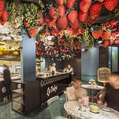 There's a sweet new addition to the Adriá's Barcelona restaurant Tickets... http://www.we-heart.com/2015/01/09/tickets-dessert-bar-barcelona/